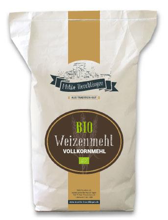 Mühle Heuchlingen - Weizenmehl Vollkornmehl
